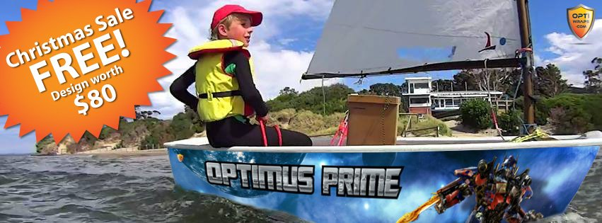 OptiWraps Christmas 2014 Facebook Ad